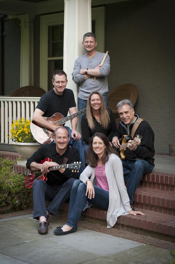 Lee Kiser (upper left) of Kiser Group with band 6FM