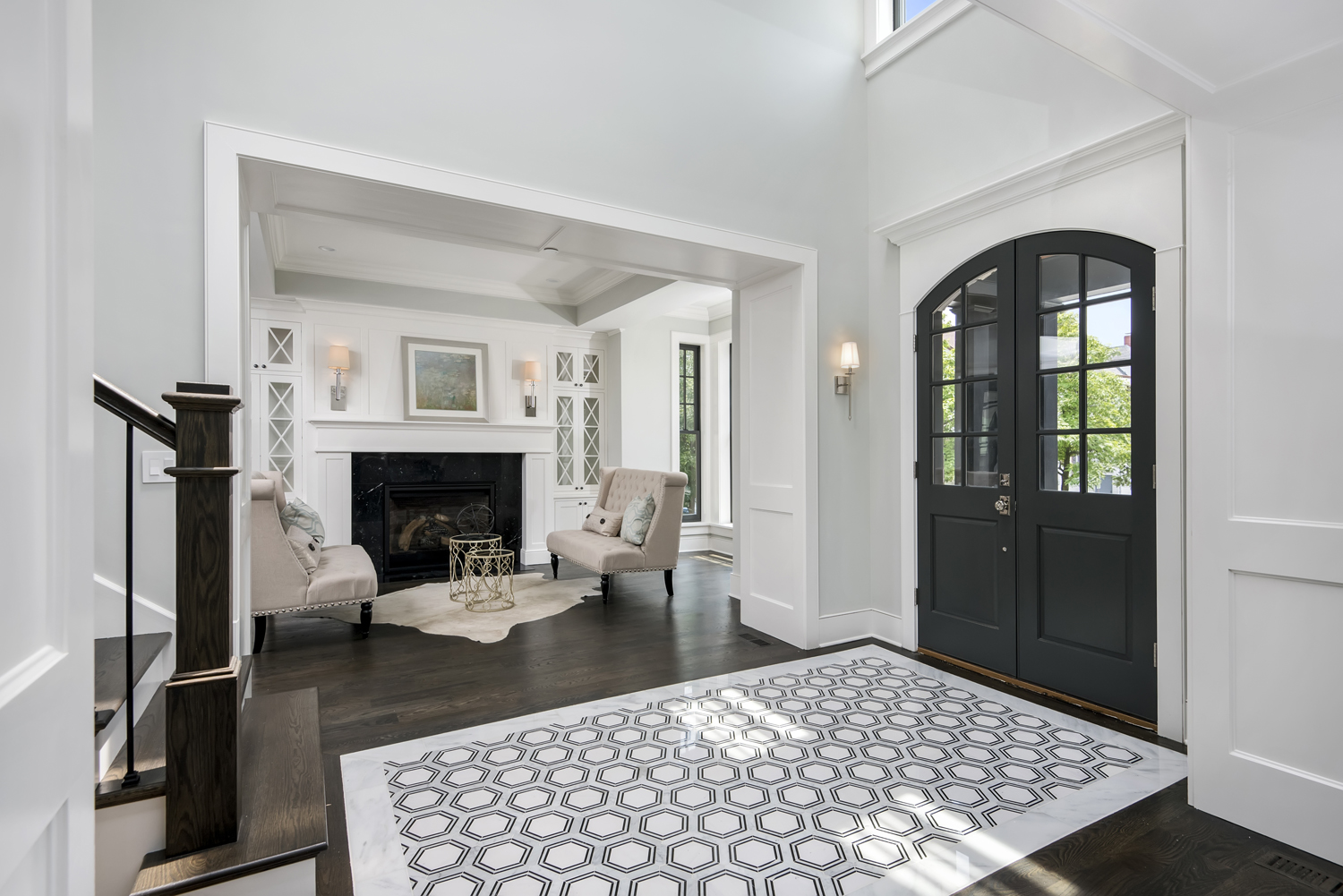 Foyer Tile Direction : Flooring trends step in a modern direction taylor johnson
